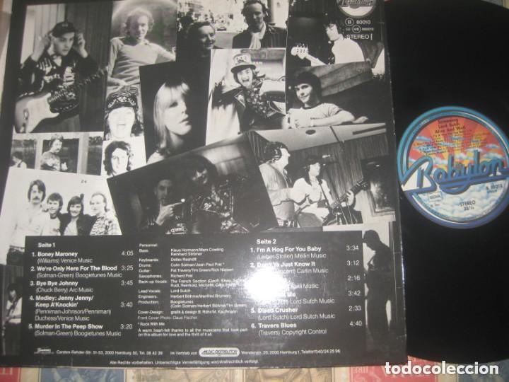 Discos de vinilo: screaming lord sutch alive and well (babylon-1980) og alemania cheap trick pat travers raro 4º album - Foto 2 - 231169200