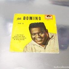 Discos de vinilo: FATS DOMINO --VOLUMEN Nº 6 --MI NOVIA JOSEFINA & TRES NOCHES A LA SEMANA +2 AÑO 1965--( VG + )( VG+). Lote 231171010