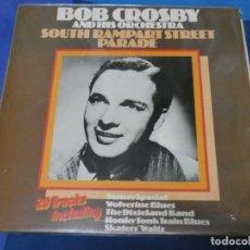 Discos de vinilo: LOTT110C LP UK JAZZ BUEN ESTADO BOB CROSBY AND ORCHESTRA SOUTH RAMPART STREET PARADE. Lote 231172570