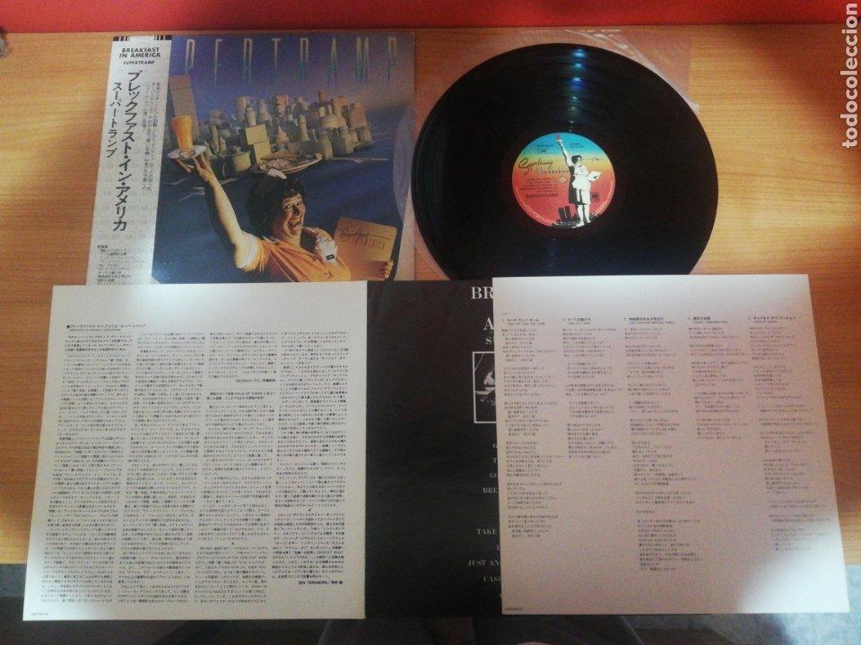 VINILO EDICIÓN JAPONESA DEL LP DE SUPERTRAMP BREAKFAST IN AMERICA (Música - Discos - LP Vinilo - Pop - Rock - New Wave Internacional de los 80)
