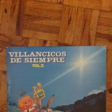 Discos de vinilo: CORAL VOCES BLANCAS – VILLANCICOS DE SIEMPRE VOL.2 LABEL: NEVADA – ND-1018 FORMAT: VINYL, LP COUNT. Lote 231214180
