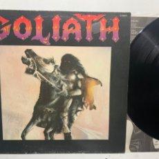 Disques de vinyle: LP GOLIATH EDICIÓN ORIGINAL DE 1985 CHAPA DISCOS. Lote 231232855