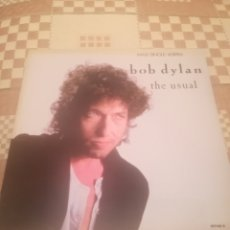 Discos de vinilo: BOB DYLAN.THE USUAL.GOT MY MIND MADE UP.THEY KILLED HIM.MAXI SINGLE.CBS 651 148 6. Lote 231250745