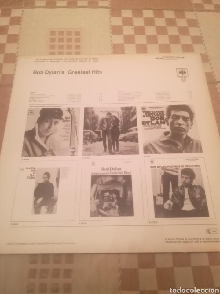 Discos de vinilo: Bob Dylan.Bob Dylans Greatest Hits.Grandes Exitos.CBS 62 694. Printed In Holland.Nuevo. - Foto 2 - 231252050