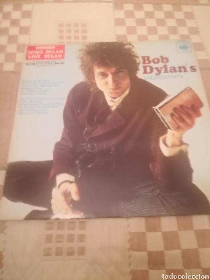 BOB DYLAN.BOB DYLAN'S GREATEST HITS.GRANDES EXITOS.CBS 62 694. PRINTED IN HOLLAND.NUEVO. (Música - Discos de Vinilo - Maxi Singles - Cantautores Internacionales)