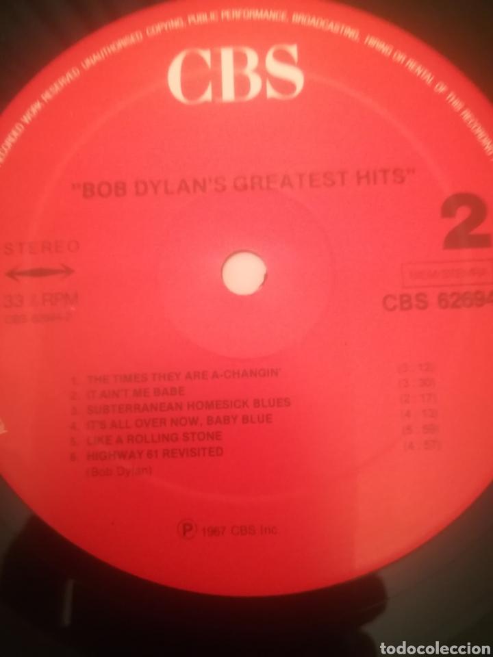 Discos de vinilo: Bob Dylan.Bob Dylans Greatest Hits.Grandes Exitos.CBS 62 694. Printed In Holland.Nuevo. - Foto 4 - 231252050