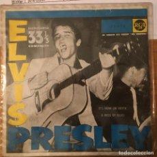 Discos de vinilo: ELVIS PRESLEY. IT'S NOW OR NEVER. SINGLE VINILO. BUEN ESTADO. VER FOTOS. Lote 231252890
