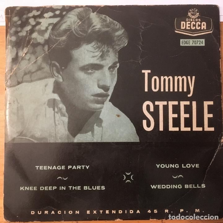 TOMMY STEELE. EP 4 TEMAS. VINILO. BUEN ESTADO. VER FOTOS (Música - Discos - Singles Vinilo - Pop - Rock Internacional de los 50 y 60)
