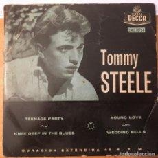 Discos de vinilo: TOMMY STEELE. EP 4 TEMAS. VINILO. BUEN ESTADO. VER FOTOS. Lote 231253120