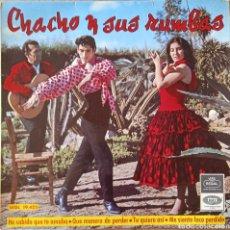Discos de vinilo: EP CHACHO Y SUS RUMBAS. Lote 231257950