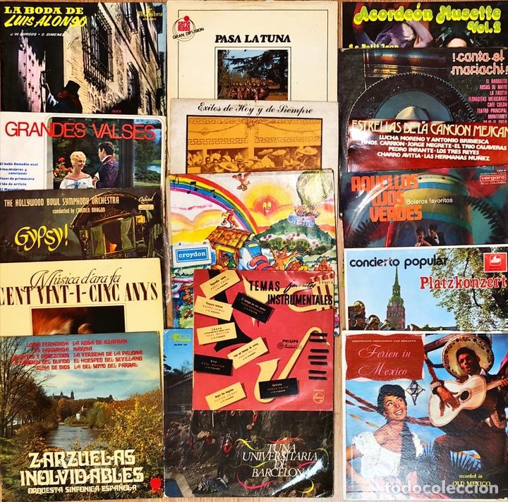 LOTE 25 LP'S FOLKLORE VARIADO (Música - Discos - LP Vinilo - Country y Folk)