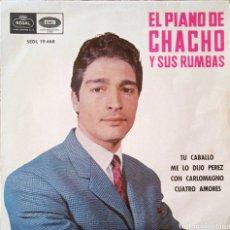 Discos de vinilo: EP EL PIANO DE CHACHO Y SUS RUMBAS. Lote 231258440