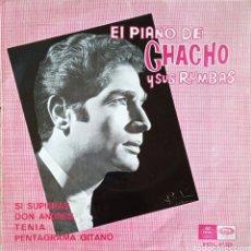 Discos de vinilo: EP EL PIANO DE CHACHO Y SUS RUMBAS. Lote 231259265