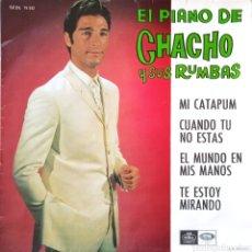 Discos de vinilo: EP EL PIANO DE CHACHO Y SUS RUMBAS. Lote 231259480