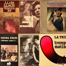 Discos de vinilo: LOTE 6 LP'S ARTISTAS CATALANES. Lote 231259870