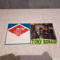 Discos de vinilo: LOTE DE DOS DISCOS VINILO SINGLE DE TONY RONALD. Lote 231265910