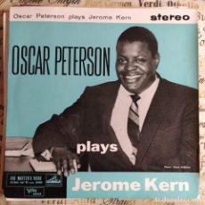 """Discos de vinilo: OSCAR PETERSON PLAYS JEROME KERN (7"""", EP) (HIS MASTER'S VOICE) GES 5829 (1960/UK). Lote 231294515"""