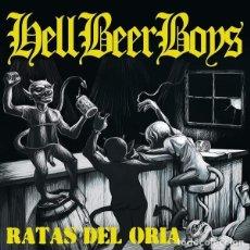 Discos de vinilo: HELL BEER BOYS - RATAS DEL ORIA - DISCO VINILO LP - BLANCO AZUL. Lote 231306510