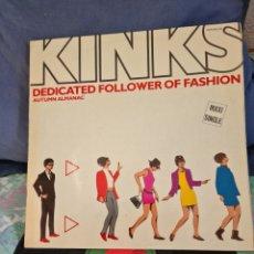 Discos de vinilo: THE KINKS. DEDICATED FOLLOWER OF FASHION. Lote 231308165