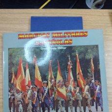 Discos de vinilo: MARCHAS MILITARES ESPAÑOLAS. GRAN BANDA MILITAR. LP 1981.. Lote 231315535