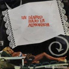 Discos de vinilo: ROBERTO PREGADIO ROMANO RIZZATTI - BSO UN DIABLO BAJO LA ALMOHADA LP VINILO BOSSA LATIN JAZZ 1968 #. Lote 231332565