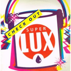 Discos de vinilo: SUPERLUX - CHECK OUT - MAXI SINGLE 1996. Lote 231332685