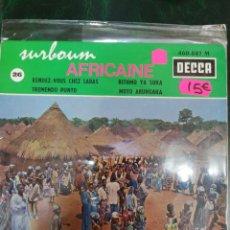 Disques de vinyle: RENDEZ VOUS CHEZ LABAS. AFRICAINE. DECCA. Lote 231358220
