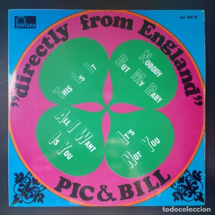 PIC & BILL - THIS IS IT - EP 1967 - FONTANA (Música - Discos de Vinilo - EPs - Funk, Soul y Black Music)