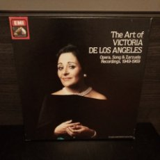 Discos de vinilo: ALBUM 3 VINILOS VICTORIA DE LOS ANGELES, 1949 - 1969. Lote 231376330