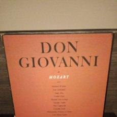 Discos de vinilo: ALBUM 4 VINILOS DON GIOVANNI, MOZART, SELLO COLOMBIA. Lote 231378490