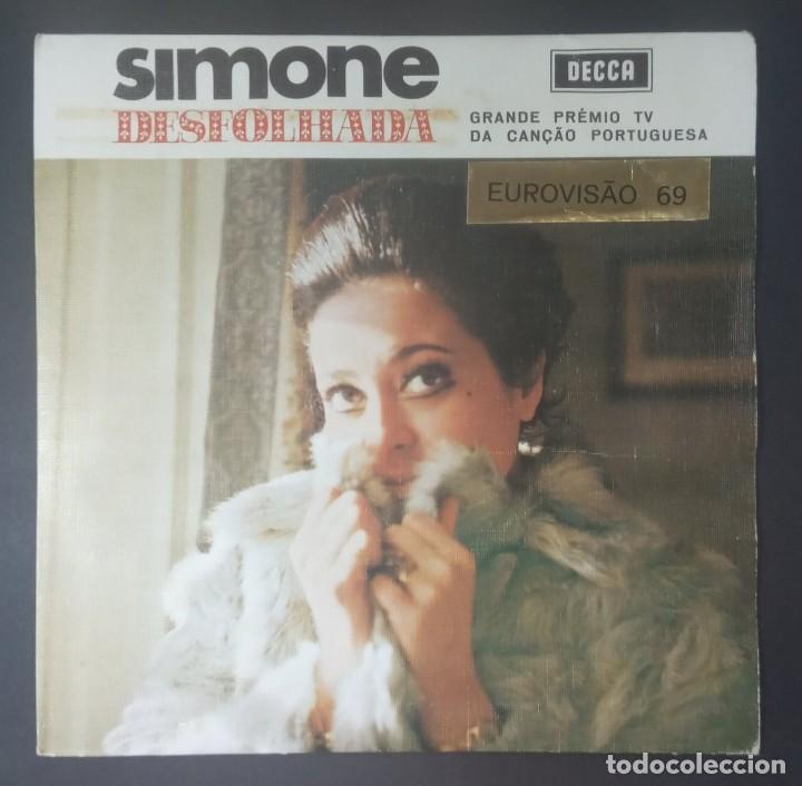 SIMONE - DESFOLHADA PORTUGUESA - EP PROTUGUES 1969 - DECCA (EUROVISION) (Música - Discos de Vinilo - EPs - Festival de Eurovisión)