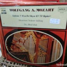 Discos de vinilo: DISCO VINILO WOLFGANG A. MOZART Nº 62. SIN USO. DISC-28. Lote 231389315