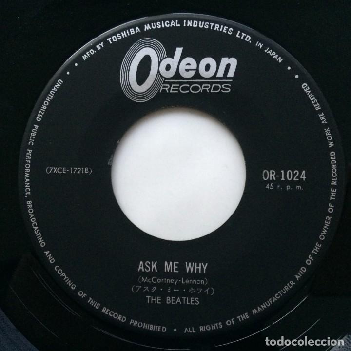 Discos de vinilo: The Beatles - Please Please Me / Ask Me Why Japan,1964 - Foto 5 - 231389810