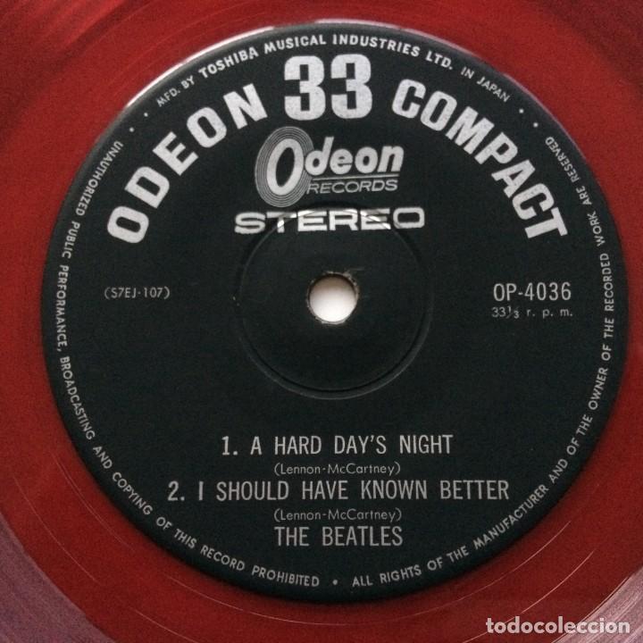 Discos de vinilo: The Beatles – A Hard Days Night Japan,1965 - Foto 3 - 231396280