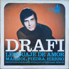 Disques de vinyle: SINGLE DRAFI. Lote 231409170