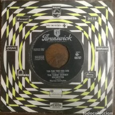 Disques de vinyle: THE TOMMY DORSEY ORCHESTRA. TEA FOR TWO CHA CHA/ MY BABY JUST CARES FOR ME. BRUNSWICK UK 1958 SINGLE. Lote 231419635