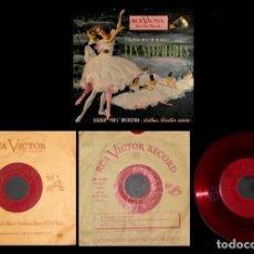 Discos de vinilo: CHOPIN. BALLET. LES SYLPHIDES. BOSTON POPS. ORQUESTA. ARTUR FIEDLER. [CAJA CON 3 SINGLES].. Lote 231434880