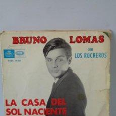 Discos de vinilo: ¡¡ SINGLES : BRUNO LOMAS, LOS BRINCOS, LOS SIREX Y EL FARY. !!. Lote 231461475