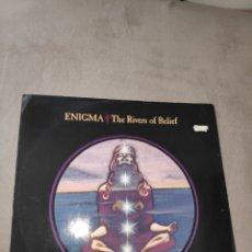 Discos de vinilo: ENIGMA - THE RIVERS OF BELIEF - MAXI SINGLE - 12 - VINILO - UK - REINO UNIDO. Lote 231468525
