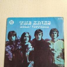 Discos de vinilo: THE KINKS LOLA. Lote 231479120