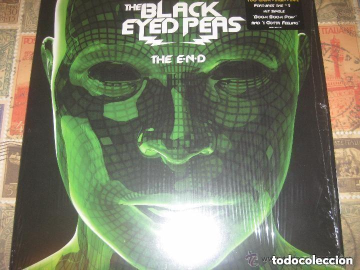 THE BLACK EYED PEAS THE END 2LPS (2009-INTERSCOPE RECORDS) OG USA NUEVO (Música - Discos - LP Vinilo - Techno, Trance y House)