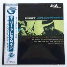 Discos de vinilo: LEE MORGAN - KELLY SEPTET – DIZZY ATMOSPHERE JAPAN,1991 SPECIALTY. Lote 231479865