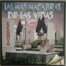 Discos de vinilo: ESKORBUTO - LAS MAS MACABRAS DE LA VIDAS - VINILO LP - REEDICION GUNS OF BRIXTON. Lote 231480700