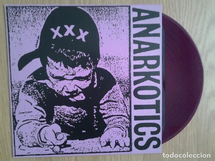 ANARKOTICS - MAKETA - VINILO LP - REEDICION DE LA MAKETA - VINILO LILA (Música - Discos - LP Vinilo - Punk - Hard Core)