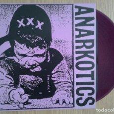 Discos de vinil: ANARKOTICS - MAKETA - VINILO LP - REEDICION DE LA MAKETA - VINILO LILA. Lote 231480815