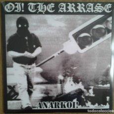 Discos de vinilo: OI THE ARRASE - ANARKOI - VINILO LP - DOBLE VINILO. Lote 231480920