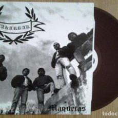 Discos de vinilo: ZAKARRAK - MAQUETAS- VINILO LP - VINILO MARRON. Lote 231481010