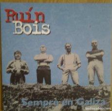 Discos de vinilo: RUIN BOIS - SEMPRE EN GALIZA - VINILO LP DESPLEGABLE. Lote 231481250