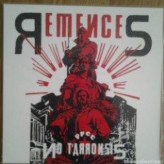 Discos de vinilo: REMENCES - NO TARRONSIS - VINILO LP NEGRO. Lote 231481345