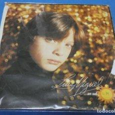 Discos de vinilo: EXPRO LP RARO DE 1982 LUIS MIGUEL UN SOL PORTADA CHUNGA DISCO REMOTAMENTE AUDIBLE. Lote 231505220